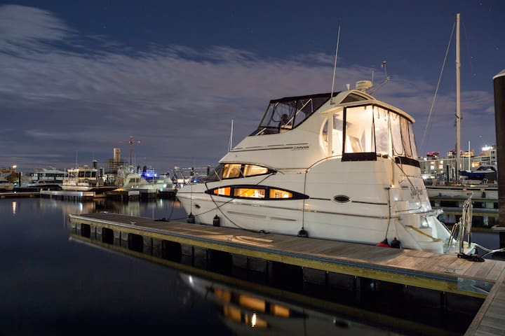 Yacht Free Parking Walk to North End - Boston - Barco