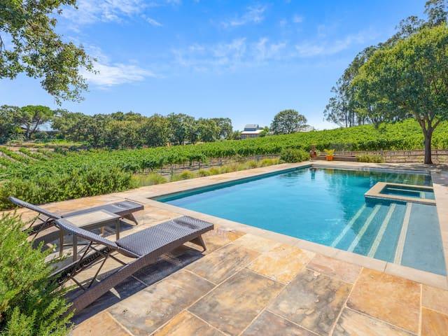 Vineyard Estate w/Hot Tub & Pool - Minutes to Napa
