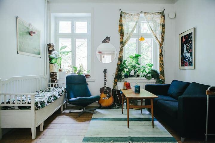 Bohemian 2 room apartment in the heart of Malmö!