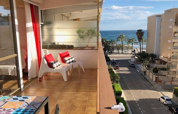 Apartamento 4 personas, al lado de la playa