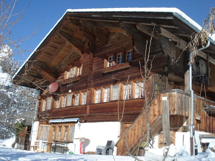Swiss chalet with breathtaking view
