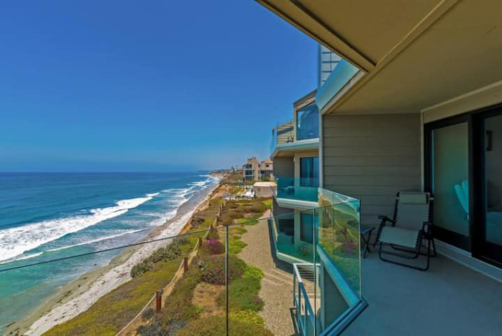 Oceanfront w/ Sweeping Views, Pool, Spa + Tennis Court