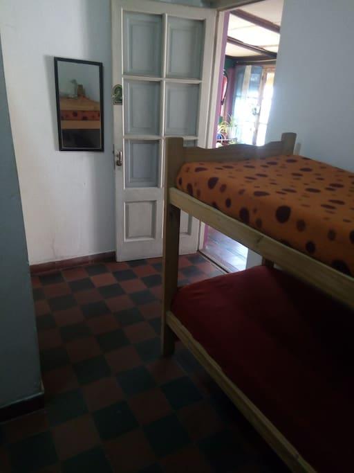 Habitación N2 compartida                 (4 Personas)