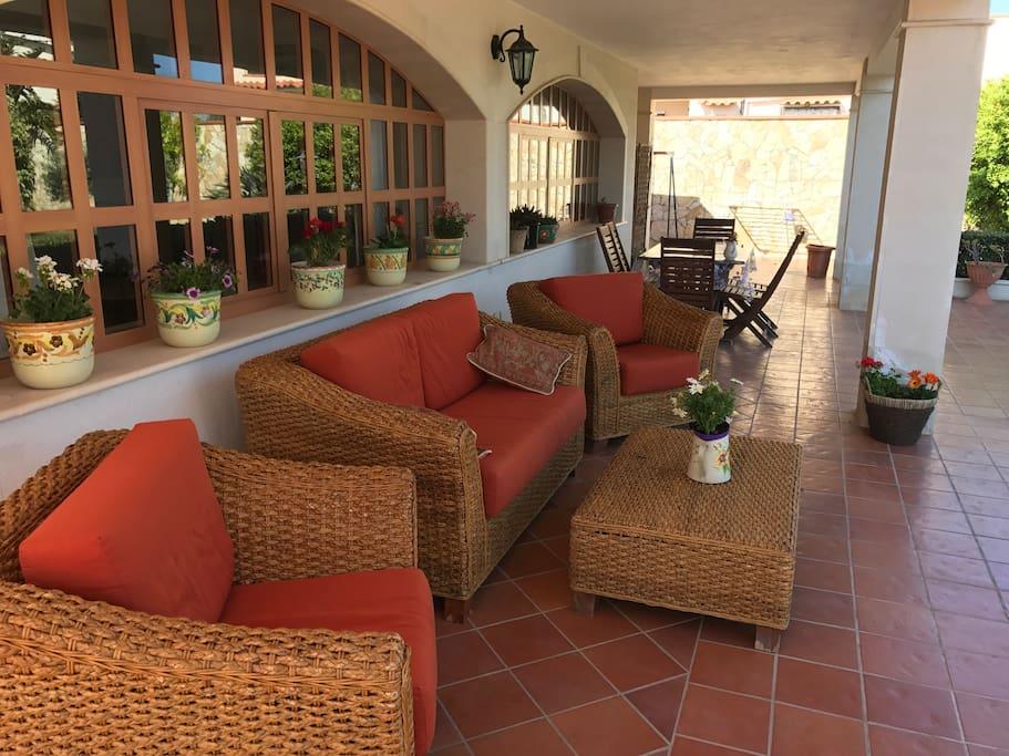 Veranda - relax Villa Carmen