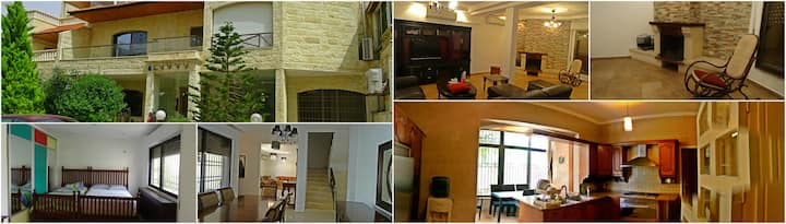6 beds Villa in Abdoun - long and short term rent!