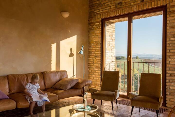 TUSCANY FOREVER VILLA VI TERRA APARTMENT /I - Saline di Volterra - Wohnung