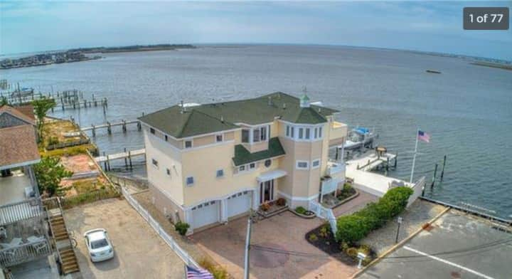 LBI Bay Front and Beach Home