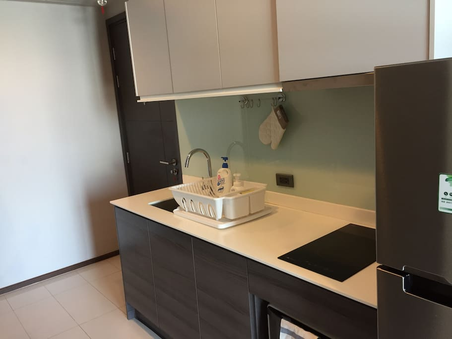 Built-in Kitchen and space