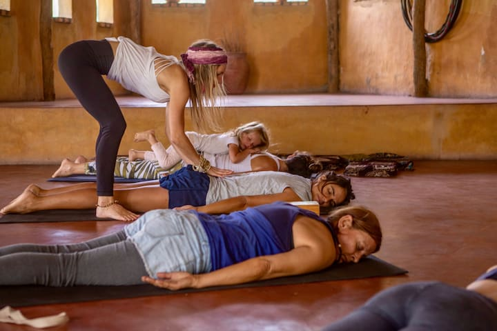 Yoga shala offers daily classes for all different levels