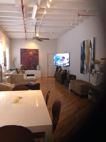 Magical Mott Haven Loft