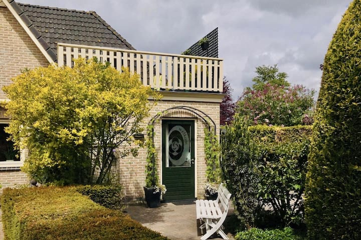 Homely Apartment in Noordwolde with Balcony