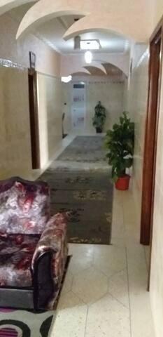 Chambres privés  cuisine marocaine  parking privés