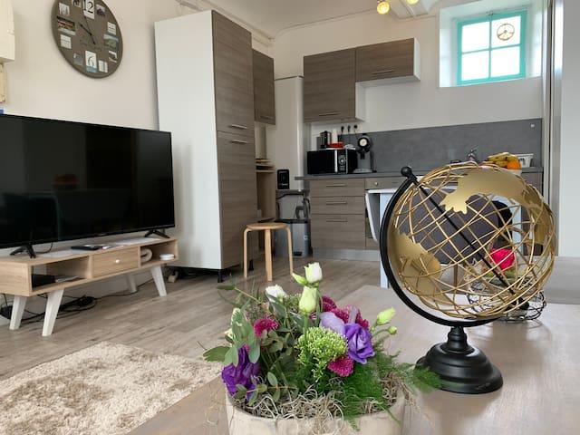 Grand appartement au coeur de Bayeux historique