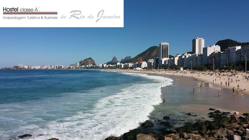(H 1a) Copacabana dormitório misto-Hostel classe A