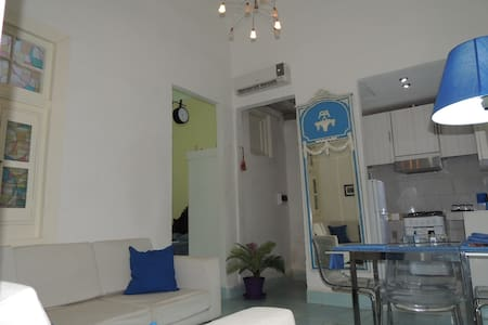 SPECIAL PRICE BLUE APARTMENT. SOL STREET. PEACE. - La Habana - อพาร์ทเมนท์