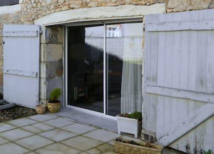 Jolie  2 pieces et terrasse au coeur de la  Brenne - Tournon-Saint-Martin - Lejlighed