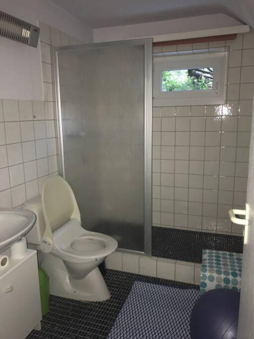 Gästedusche mit WC