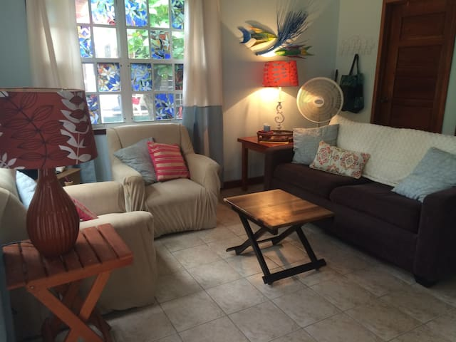 Private Casita 2 pools/beach 2 min - San Pedro - Huis