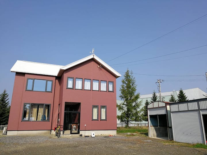 Up to 8people☆Other Side House at Nakafurano