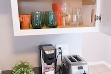 Some of our kitchen amenities
