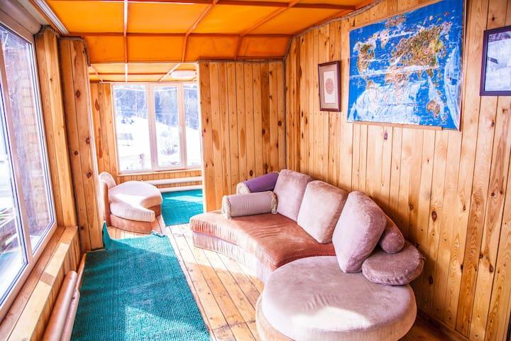 Pioneer, семейный горный курорт - Almaty - Alojamento na natureza