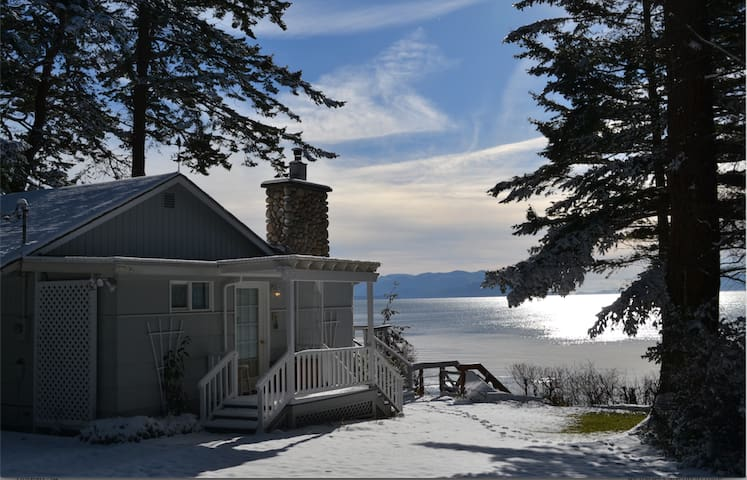Cottage by the Sea - Private Beach - Lummi Island