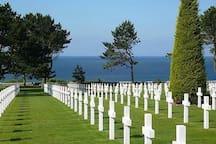 Le cimetière Américain...