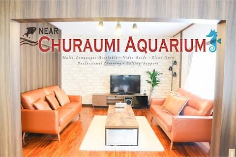 Sea view ♪Great access→Aquarium&Sesokojima