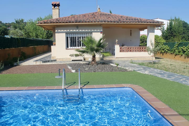 Family and cosy house in Costa Brava LLoret de Mar - Vidreres - Bungalo