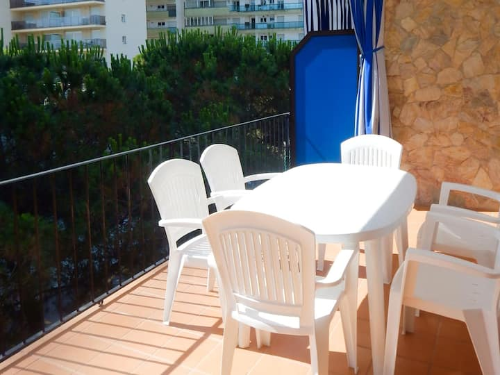 Apartment in Platja d'Aró 2nd sea line first floor with parking - MARDOR-19