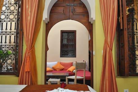 Cozy room in the heart of ancient medina (Riad)