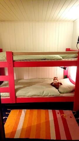 Soverom 3, køyeseng til barn (70x190)