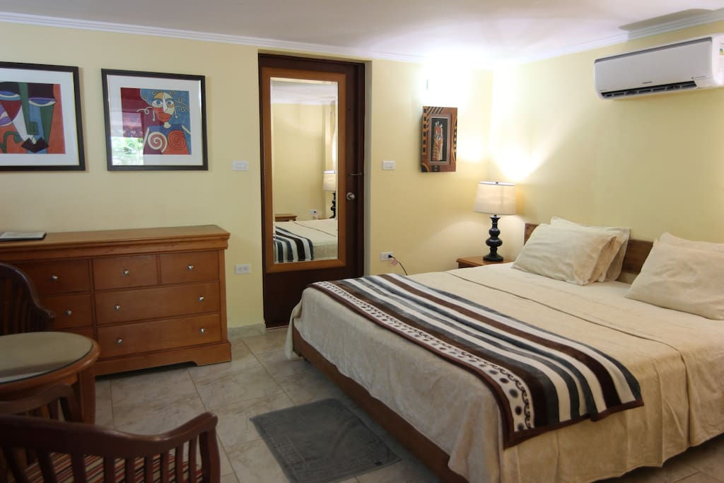 Bedroom apartment C with king size bed