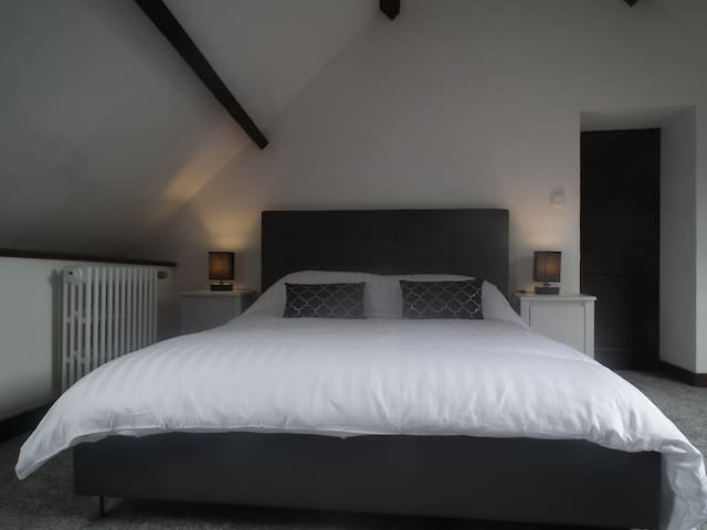 Deluxe King-Size Attic Room with Breakfast