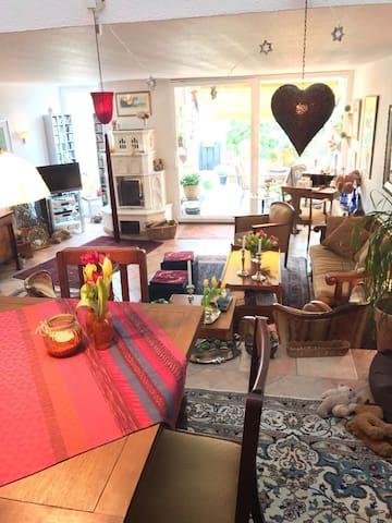 Liebevolles Ferienzuhause - Meckenheim - 連棟房屋