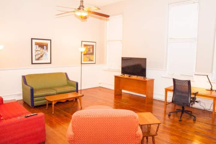 Large 1 bdrm apt  Brookhaven's historic dwtn area