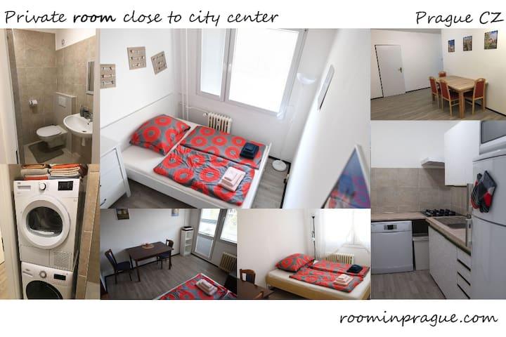 Private room close to city center 3