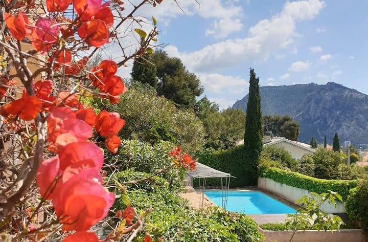 Mimi sur mer : villa  vue mer, piscine / jacuzzi