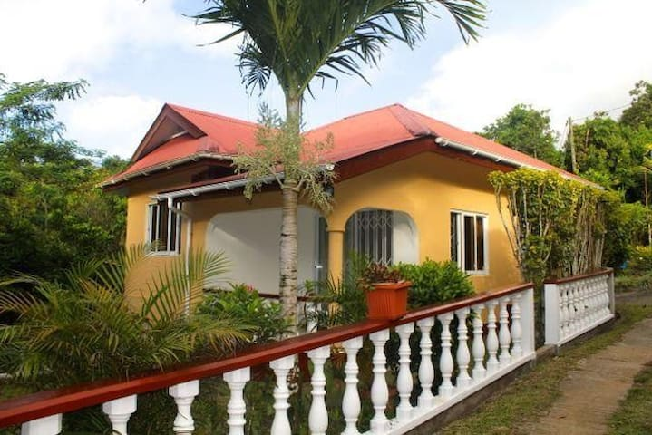 Tropical garden selfcatering house - La Misere - Dům
