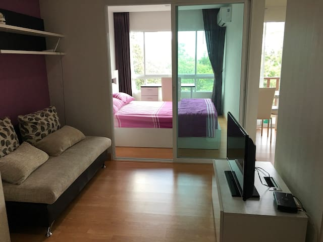 Nice View Fully Furnished Studio - Chang Phueak - Apartamento