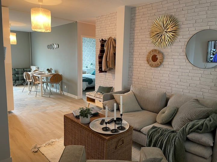 Cosy appartment 5mins from Capitole