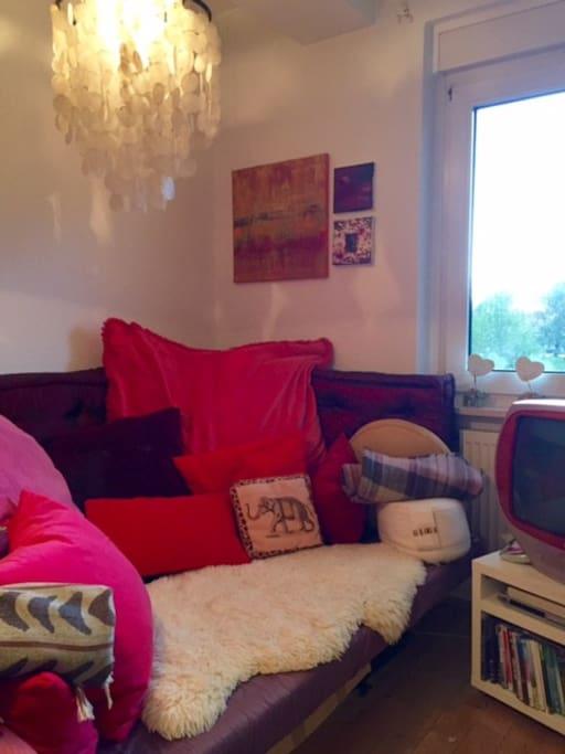 Bett-Couch (Ikea) als Schlafgelegenheit für meinen Gast