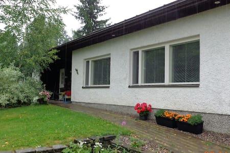 Tiina's house