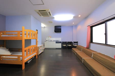 5 bedrooms☆MAX 30people☆Free wifi (S56) - Ikuno-ku, Ōsaka-shi - Haus