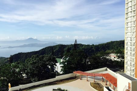1 Bedroom Facing Taal Lake View,Wifi,cable n pool - Tagaytay