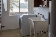 Laundry area: There is a washer and dryer available for your use.