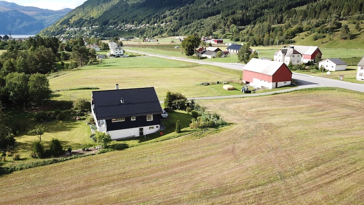 "Stordal, Risvoll Bed and Breakfast, room ""Green"""