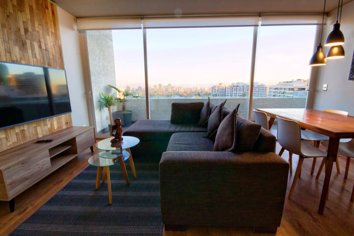 Exclusive Las Condes, Large, Views & Free Parking