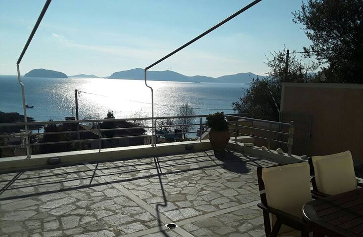 Kavala - Palio Bay  View - Παλαιό Τσιφλίκι - Lägenhet