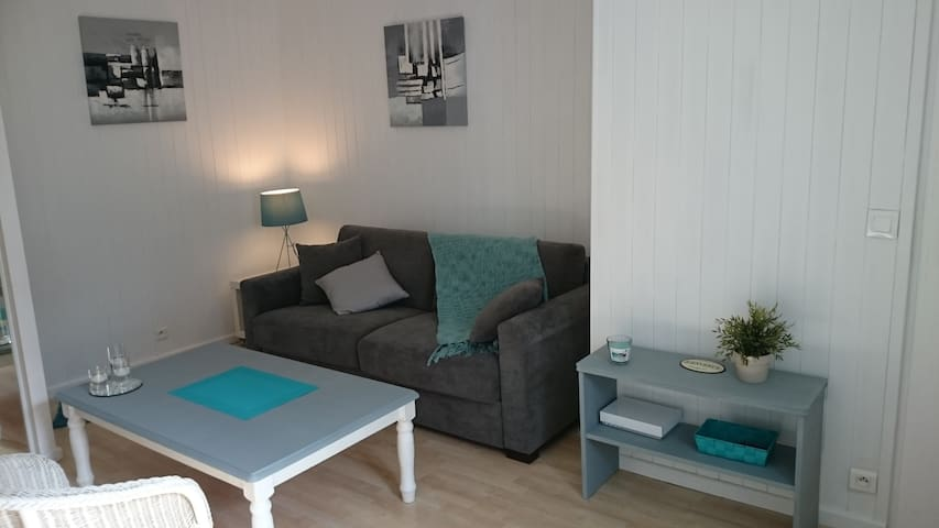 T1 lumineux Saint Malo-Solidor, parking gratuit - Saint-Malo - Apartment